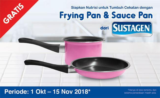 Frying Pan & Sauce Pan