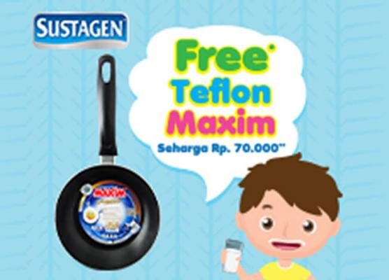 Sustagen Promo Free Teflon Maxim